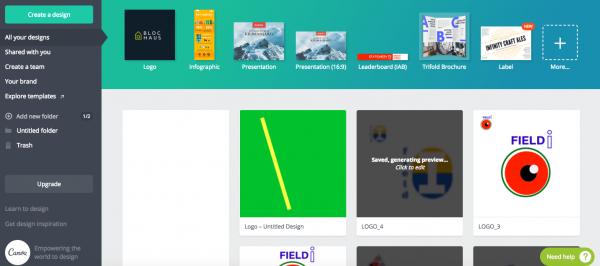 Infographic Creation Tools Like Canva