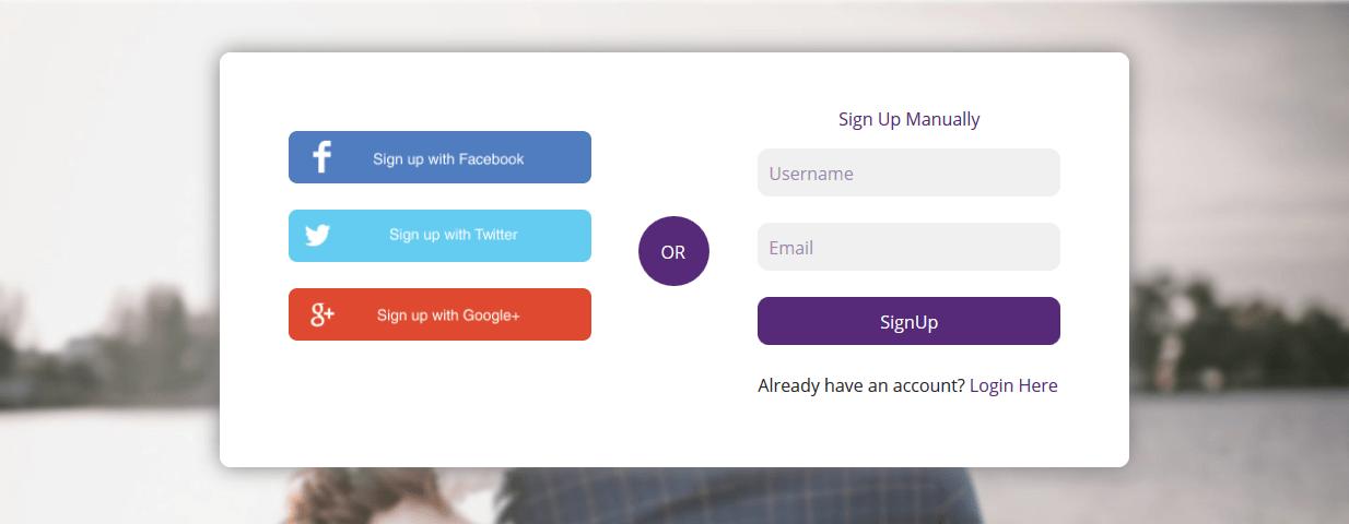 Custom WordPress Registration Page