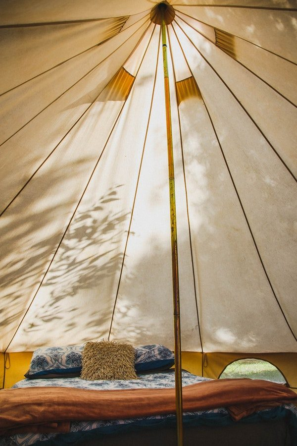 Glamping Luxury Bed