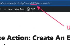 WordPress Post Id From Address Bar