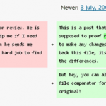Text Files Compared
