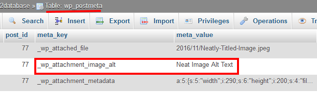 Image Alt Saved In Wp_posts_meta Table