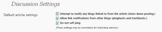No Self Pings - Visualization