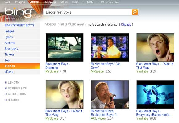 Bing Video Search - Watch Videos Inline