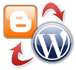 Blogger And WordPress Side - By - Side