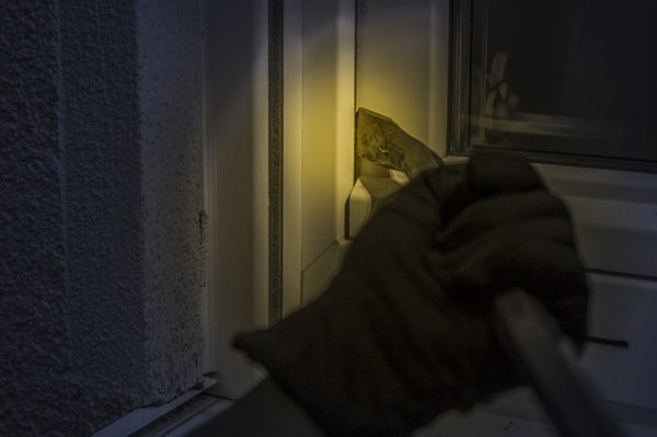 Burglar In The House
