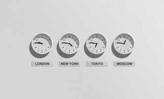 Business Time Clock Clocks
