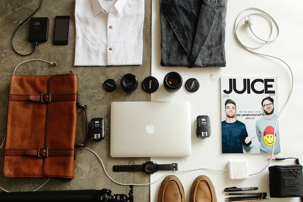 Business Travel Minimal Packing