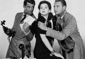 Cary Grant Rosalind Russell Ralph Bellamy Actor 53370