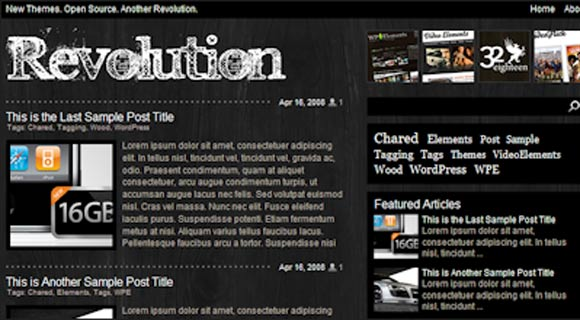 Revolution Charred ( Click Image for a Live Demo )
