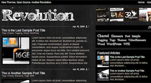 Revolution Charred ( Click Image for a Live Demo )
