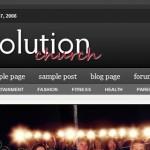 Revolution Church ( Click for a Live Demo )