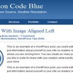 Revolution Code Blue ( Click for a Live Demo )