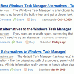 """Search for """"best task manager alternative"""""""