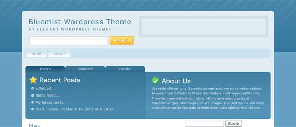 Elegant Themes - Bluemist Theme
