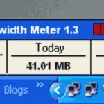 Free Bandwidth Meter