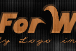 Go For Wood Free Logo Design