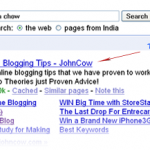 Google For John Chow