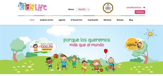 Kidslife.es Website