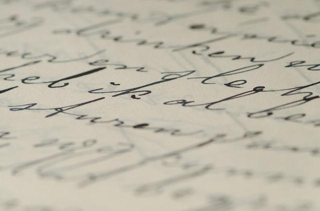 Letter Handwriting Family Letters Written 51159