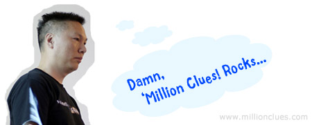 Million Clues Rocks, John Chow