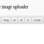 Open the Image Uploader