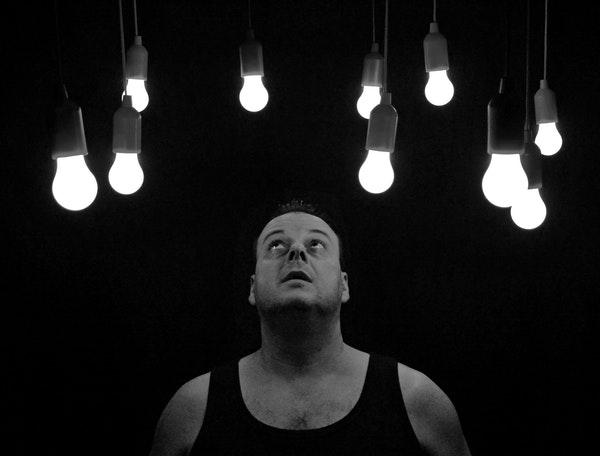 Man With Bulbs