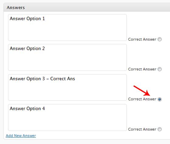 Add Answers