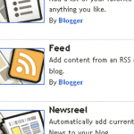 Get RSS Feed From New Blog