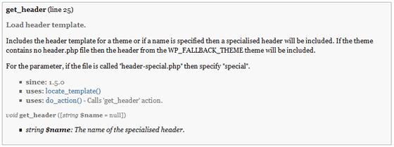 WordPress Theme Functions Documentation