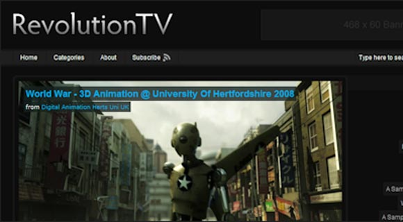 Revolution TV ( Click Image for a Live Demo )