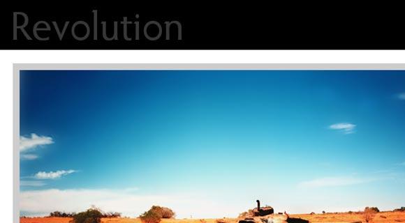 Revolution White Canvas ( Click Image for a Live Demo )