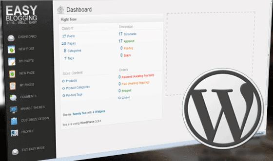 WordPress Admin CSS